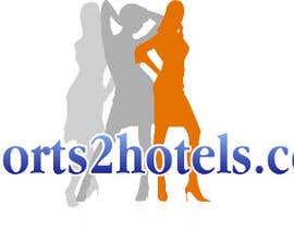 tanveer230 tarafından Design et Logo for escorts2hotels.com için no 11