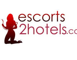 Gdesign2u tarafından Design et Logo for escorts2hotels.com için no 24
