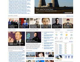 #42 para Website Design for TodayChina.TV por dragnoir