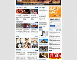 dragnoir tarafından Website Design for TodayChina.TV için no 29