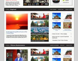 cameolis tarafından Website Design for TodayChina.TV için no 54