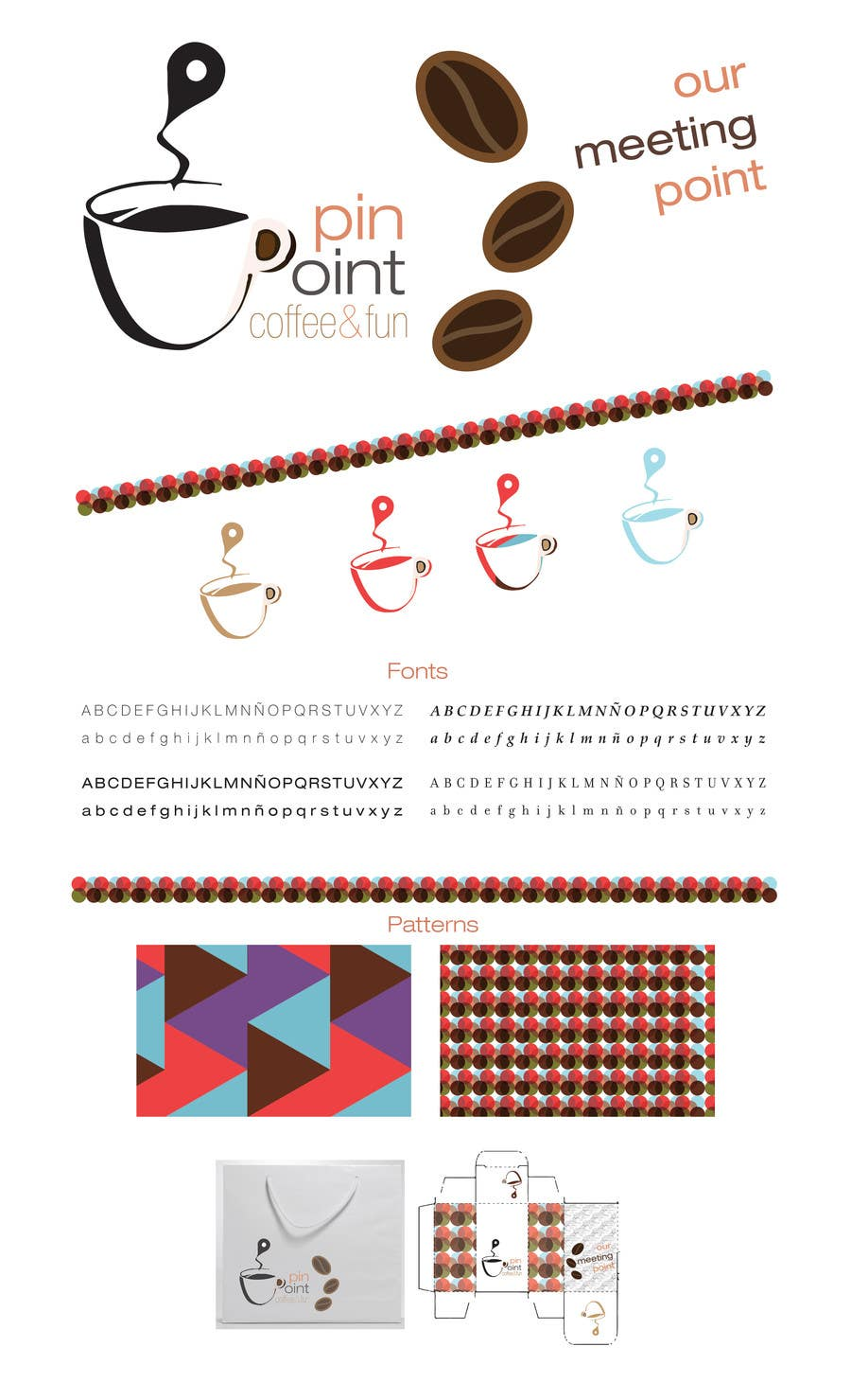 #56 for Develop a Corporate Identity for Fast food - coffe bar by braianurich