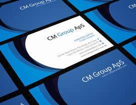 #3 untuk Design nogle Visitkort for CM Group ApS oleh rimskik