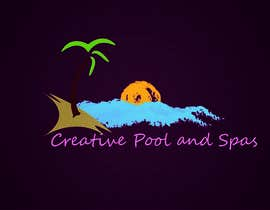 harry21design tarafından Design a Modern Logo for Creative Pools and Spas için no 21