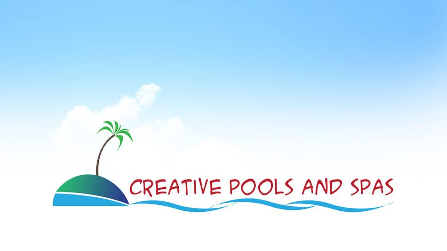 #73 for Design a Modern Logo for Creative Pools and Spas by manish997