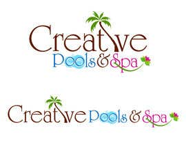 #78 for Design a Modern Logo for Creative Pools and Spas by suneshthakkar