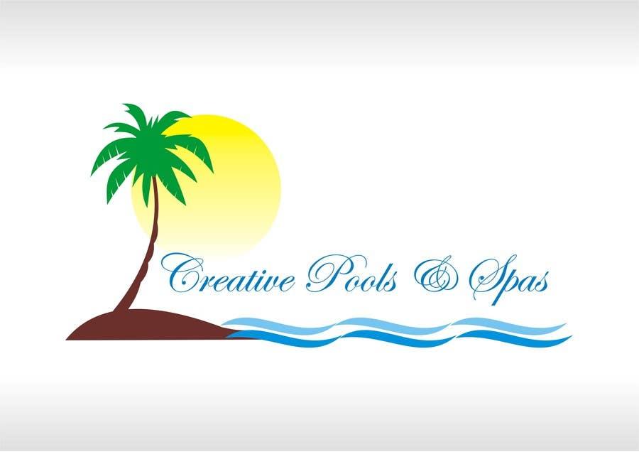#62 for Design a Modern Logo for Creative Pools and Spas by shobbypillai