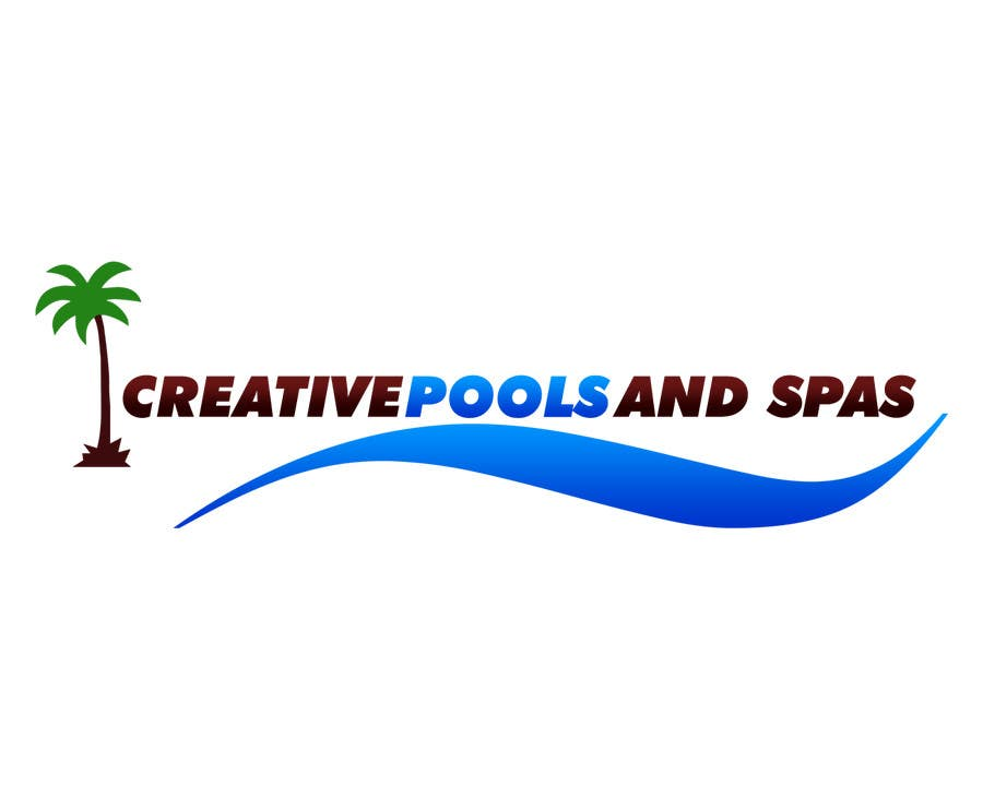 #68 for Design a Modern Logo for Creative Pools and Spas by LogoFreelancers