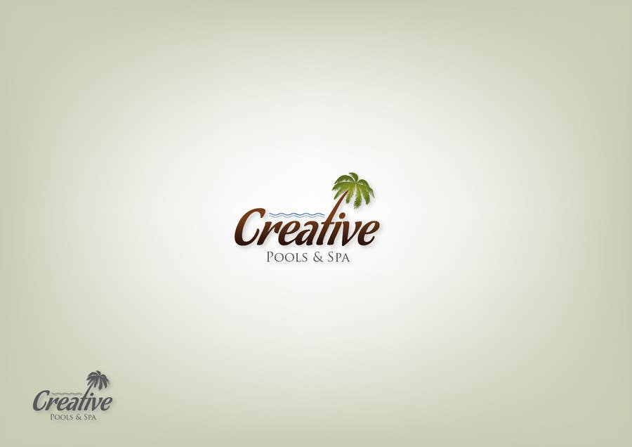 #38 for Design a Modern Logo for Creative Pools and Spas by javiernarese
