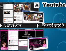 #1 untuk Design a Twitter background for a wedding eBook oleh TradeTweet