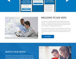 #10 for Design a web applicatoin (PSD) for interactive Q&A sessions -  askvote.io by webmastersud
