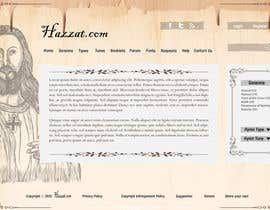 nº 66 pour Design a Website Mockup for Hazzat.com par king5isher