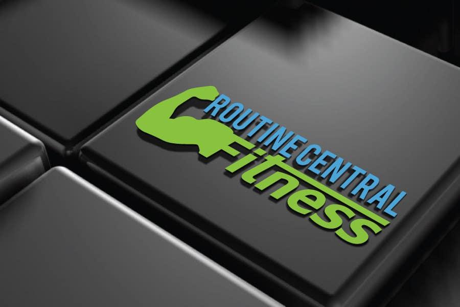 Penyertaan Peraduan #3 untuk Design a Logo for new Fitness Company