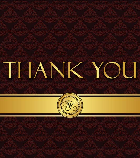 #35 for Design some Stationery for a Corporate Thank you card by rogeriolmarcos