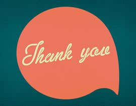 #47 for Design some Stationery for a Corporate Thank you card af LouwrensV