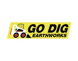 #66 для Logo & Stationery Design for GO DIG EARTHWORKS от santarellid