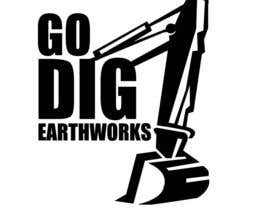 nº 12 pour Logo & Stationery Design for GO DIG EARTHWORKS par mohyehia