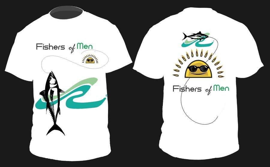 #52 for Fishers of Men T-shirt design contest by motim