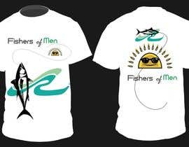 nº 52 pour Fishers of Men T-shirt design contest par motim