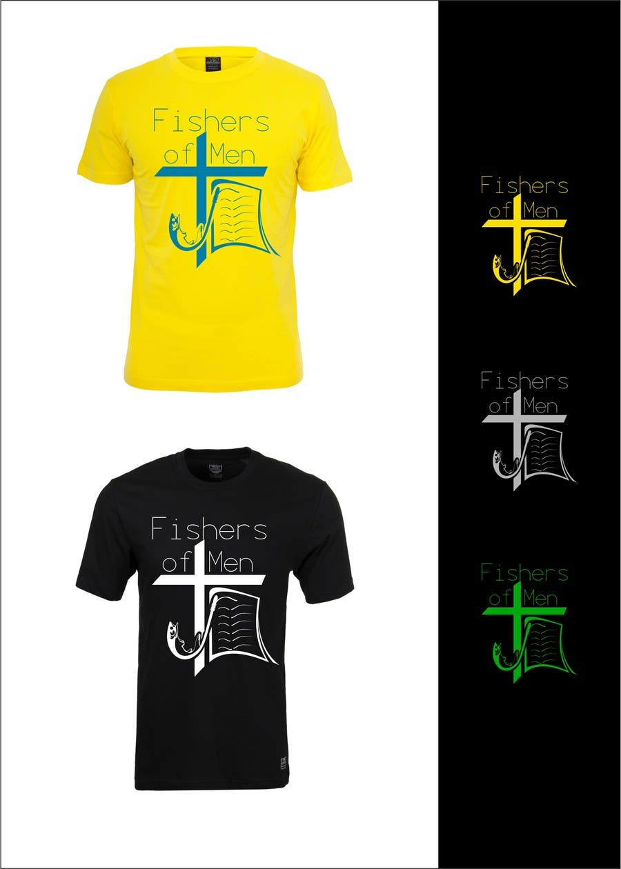 #35 for Fishers of Men T-shirt design contest by airbrusheskid