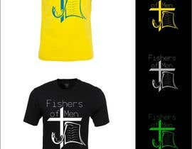 #35 para Fishers of Men T-shirt design contest por airbrusheskid