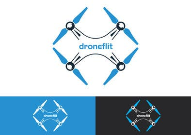 #77 for Design a FLAT logo - Drone niche by waliulislamnabin