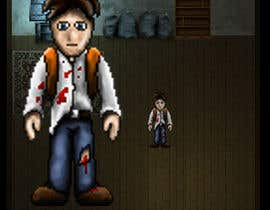 #3 para 2D pixel art sprite sheet of main character for an old school zombie apocalypse RPG video game por DrenusArt