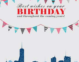 #17 untuk Design some Stationery for Corporate Birthday Card oleh abaraquel