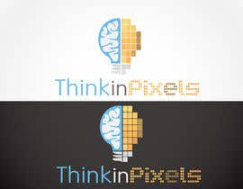 "#127 for Design a Logo for ""Think In Pixels"" by khaqanaizad"