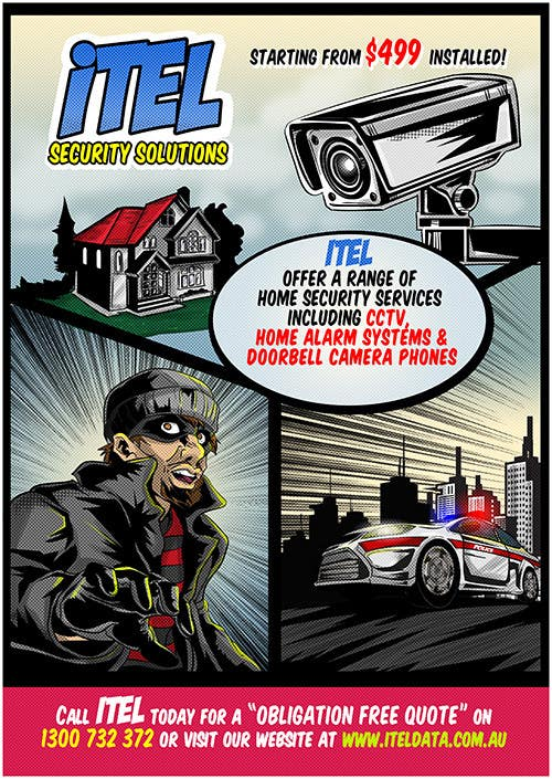 #19 for I need some Graphic Design for a Comic book style Flyer by dsgrapiko
