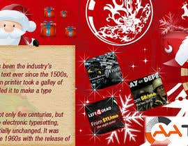 nº 14 pour Design a Christmas Themed Banner for a Game Hosting Company par imran030