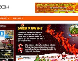 nº 19 pour Design a Christmas Themed Banner for a Game Hosting Company par imran030