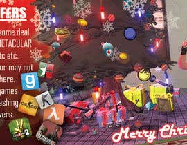 cristiandmt tarafından Design a Christmas Themed Banner for a Game Hosting Company için no 12