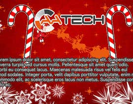 shubhangdabral tarafından Design a Christmas Themed Banner for a Game Hosting Company için no 4