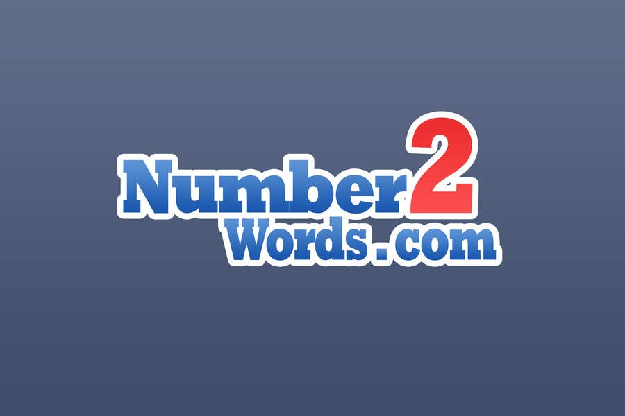 #12 for Design a logo for www.numbers2words.com by arispapapro