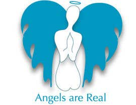 Seedlinggraphics tarafından Angels Are Real Logo Design için no 82