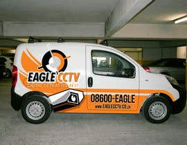 #26 para EagleCCTV Vehicle Branding Design por cowguin