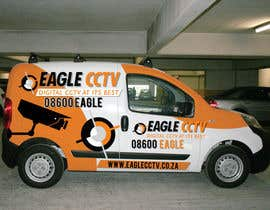 #14 para EagleCCTV Vehicle Branding Design por dannnnny85