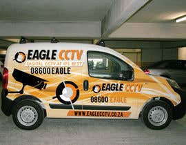 #15 para EagleCCTV Vehicle Branding Design por dannnnny85