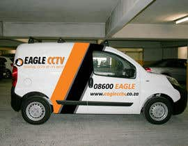 #21 for EagleCCTV Vehicle Branding Design by OUTOBOX