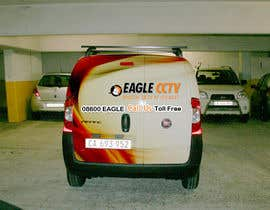 #17 para EagleCCTV Vehicle Branding Design por mydZnecoz
