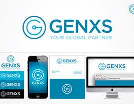 #75 para Develop a Corporate Identity for Genxs por jethtorres
