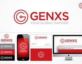 #77 for Develop a Corporate Identity for Genxs af jethtorres