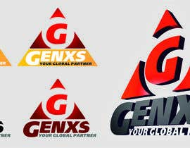#55 untuk Develop a Corporate Identity for Genxs oleh sdugin