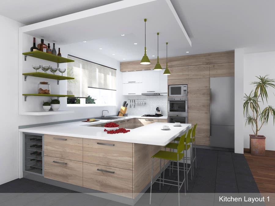 Entry 19 By Lauraburlea For Kitchen Design Freelancer