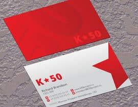 #33 untuk Business cards design for K50 (Разработка визитных карточек) oleh jobee