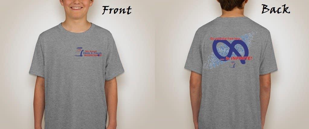 Penyertaan Peraduan #40 untuk Design a T-Shirt for our Clients & Friends Workshop
