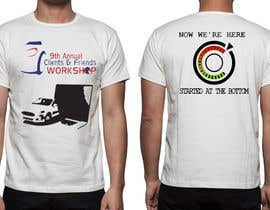 #55 untuk Design a T-Shirt for our Clients & Friends Workshop oleh lanelambden