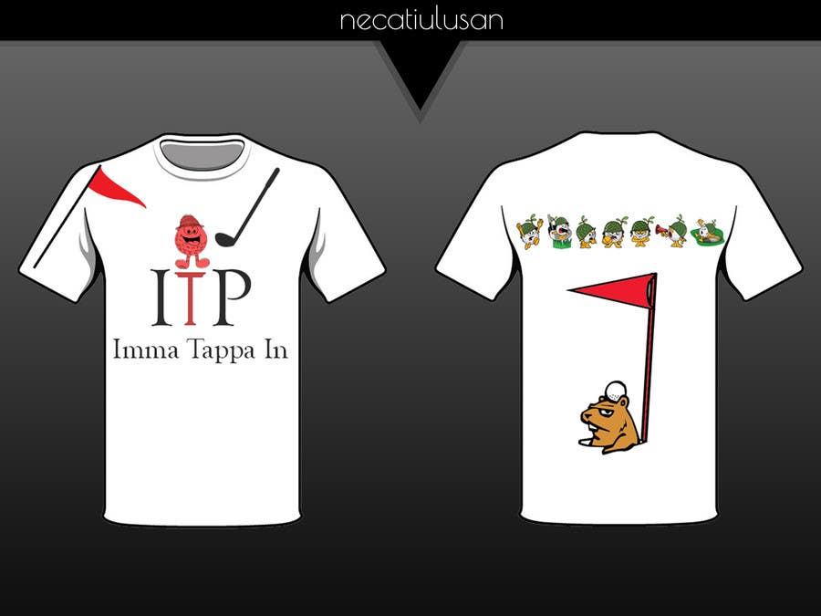 Fraternity T Shirt Designs | Entry 2 By Necatiulusan For Design A Funny Golf Fraternity T Shirt