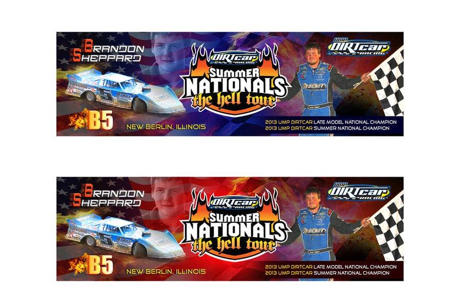 Konkurrenceindlæg #15 for Design a Banner for Brandon Sheppard Racing